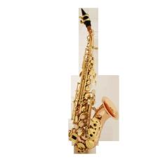 ECS-600Z gebogenes Sopransaxophon (Bronze)