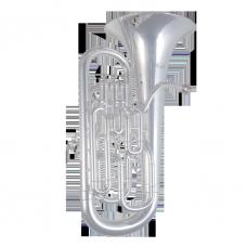 EUM-721S vollkompensiertes Euphonium versilbert
